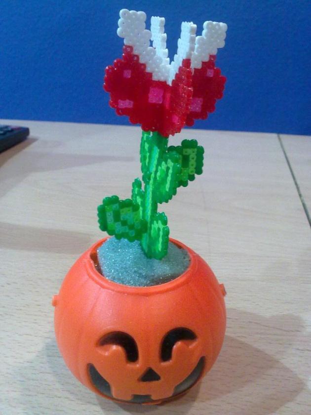 Planta carnívora de Super Mario Bros... en 3D