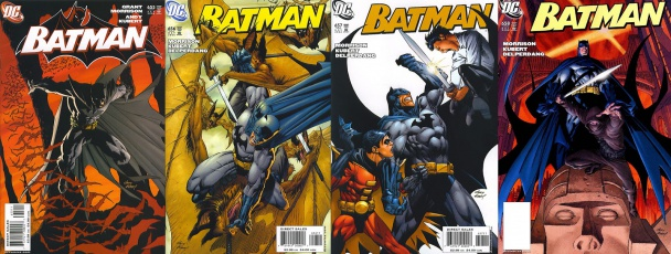 Portadas de Batman 655-658 por Andy Kubert