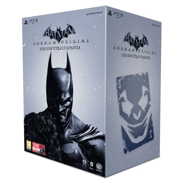 Batman Arkham Origins Coleccionista Caja