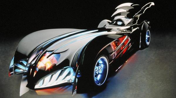 Batmovil-Batman-y-Robin