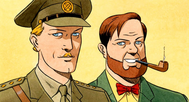 Blake et Mortimer por Juillard