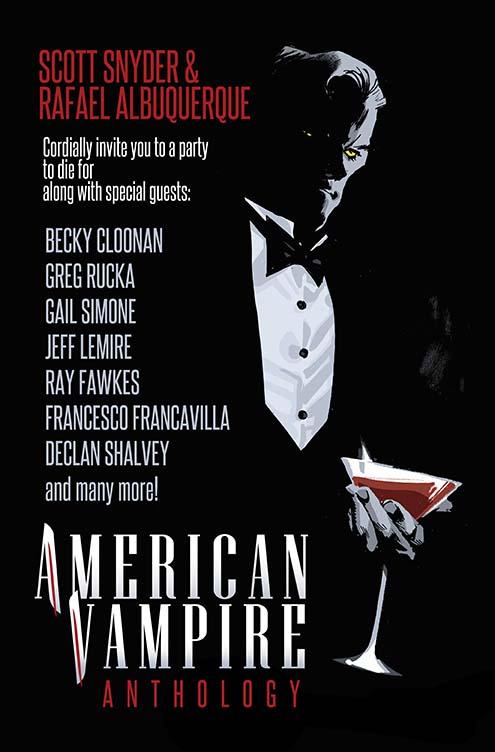 Cubierta American Vampire Anthology