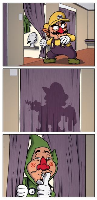 La identidad secreta de Wario