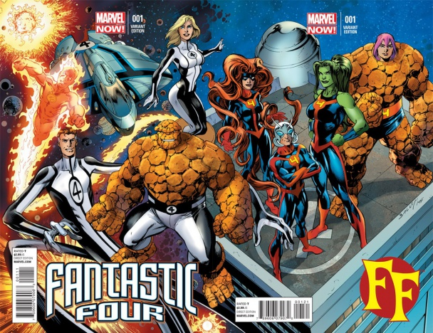 Fantastic Four y FF de Matt Fraction