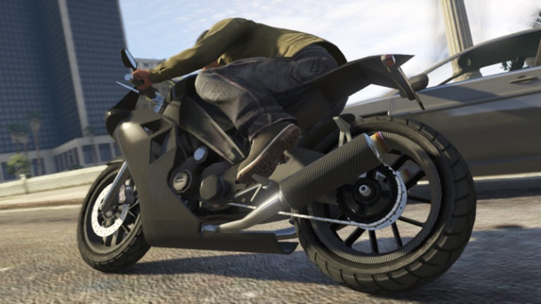 GTA V Moto CarbonRS