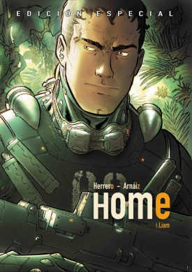HOME comic - portada
