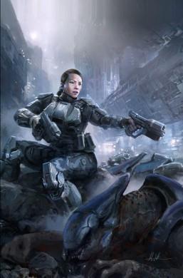 Portada Halo initiation 1