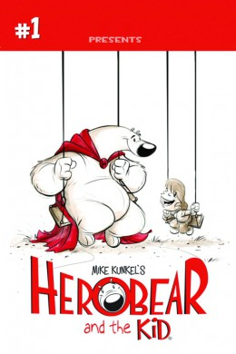 Portada Herobear and the kid 1