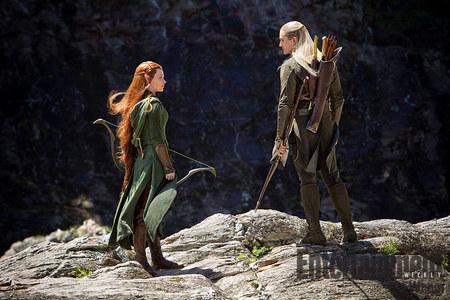 Imágen Legolas y Tauriel El Hobbit La Desolación de Smaug
