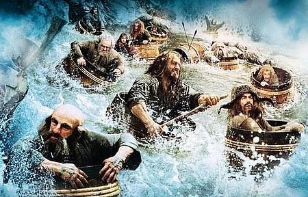 Imagen El Hobbit La Desolación de Smaug barriles