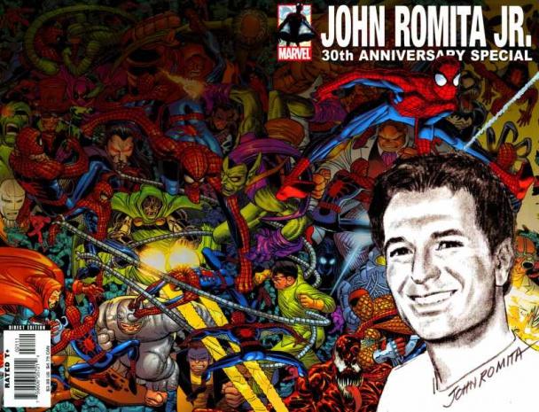 Imagen John Romita Jr 30 aniversario