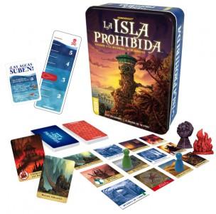 La Isla Prohibida contenido del juego