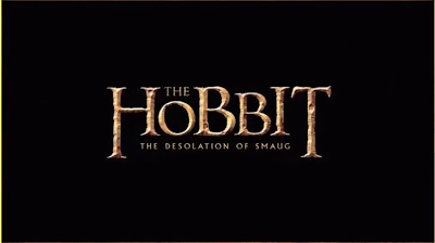 Letrero El Hobbit La Desolación de Smaug