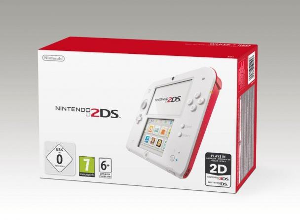 Caja de la nueva Nintendo 2DS