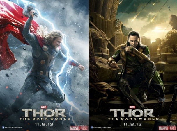 Nuevos Pósters Individuales de Thor y Loki