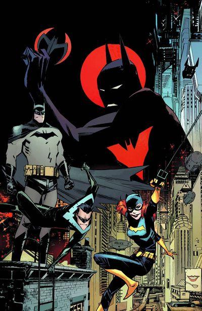 Portada de Batman Beyond Universe #1