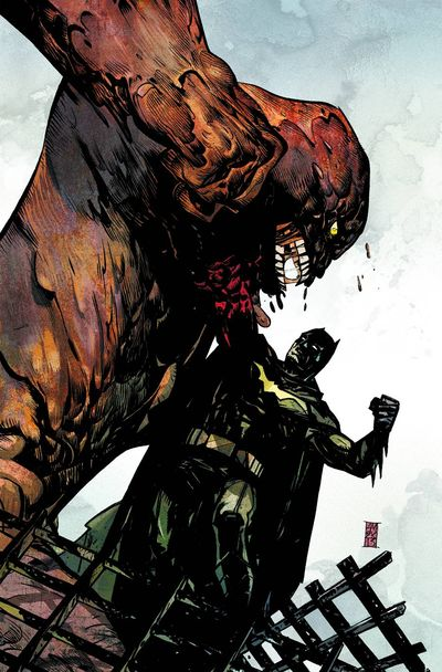 Portada de Batman the Dark Knight #23