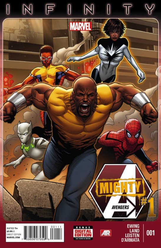 Portada de Mighty Avengers #1