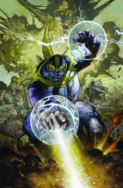 Portada de Thanos Rising #5