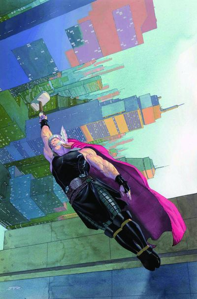 Portada de Thor: God of Thunder #12
