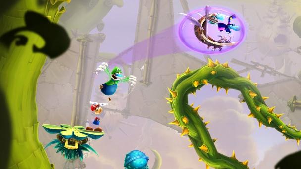 Rayman Mario Globox Luigi Toad Story