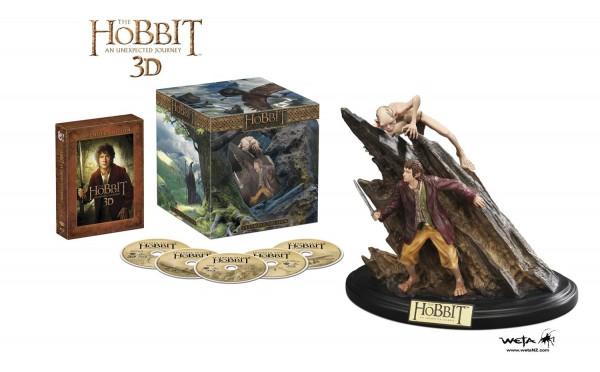 Set El Hobbit Un Viaje Inesperado edición exclusiva extendida