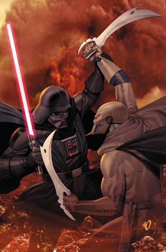 Star Wars Darth Vader and ninth assassins 5