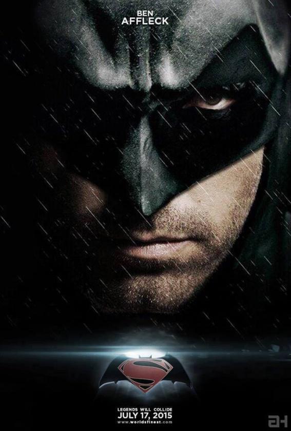 Ben Affleck caracterizado como Batman