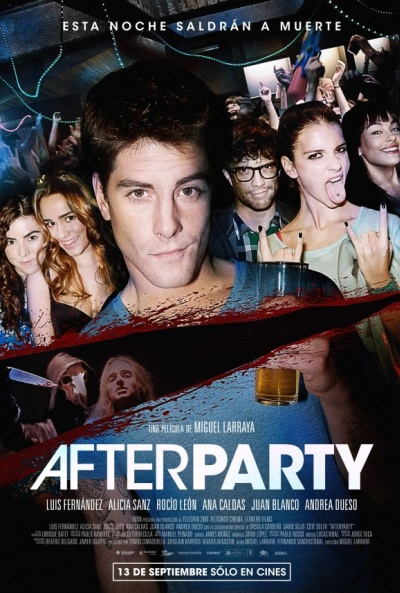"Cartelera para ""Afterparty"""