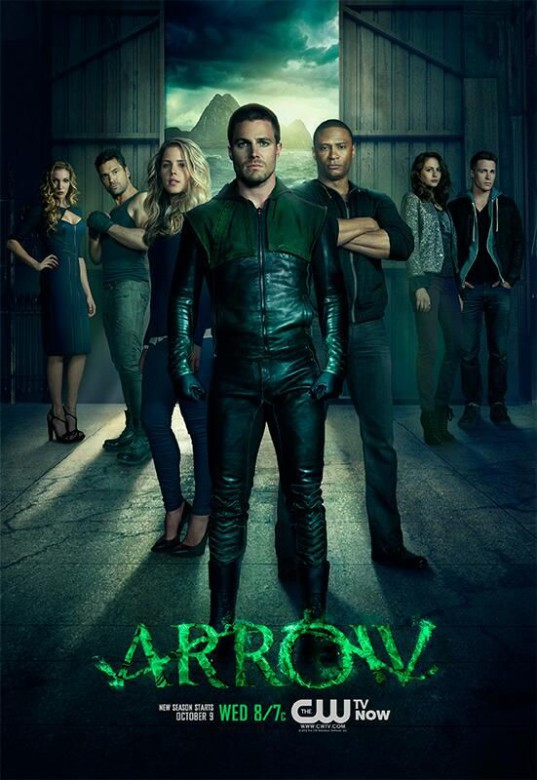 arrow-serie-cw-dc-comics-comic-poster-promocional