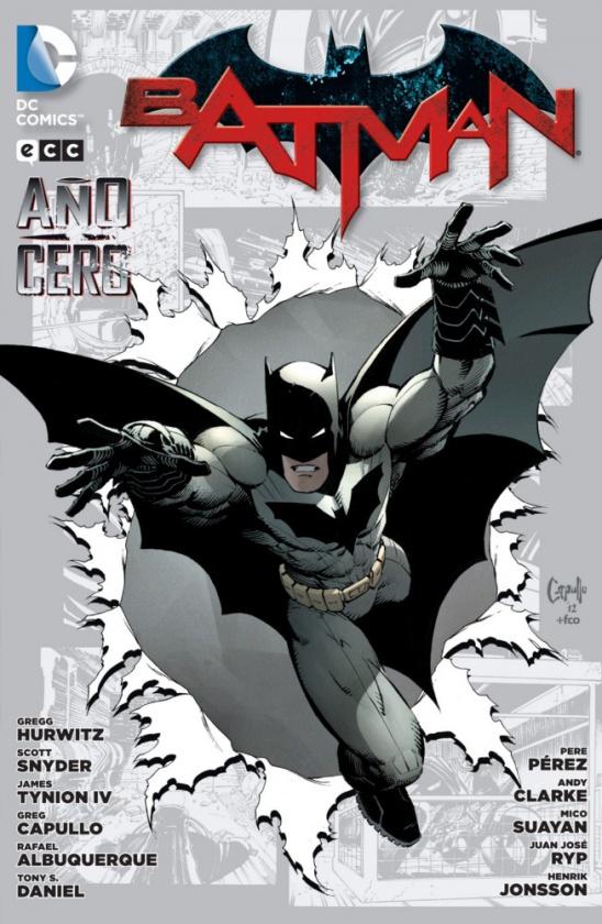 batman año cero ecc ediciones scott snyder greg capullo tony daniel james tinion iv rafael albuquerque detective comics batman the dark knight dc comic
