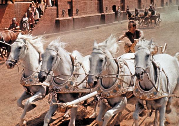 Las famosas carreras de cuádrigas romanas