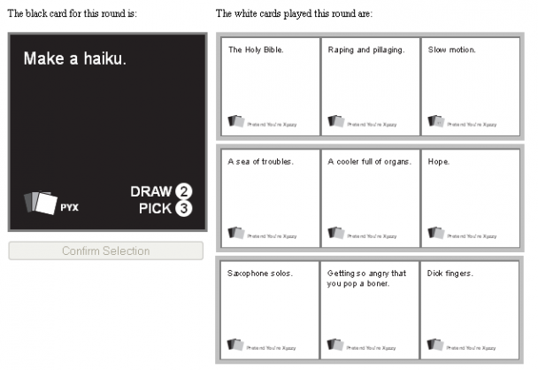 cards against humanity xyzzy multiplayer