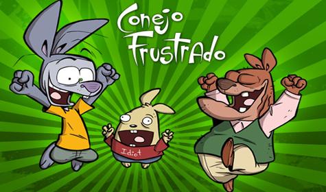 "Conejo Frustrado: ""La serie animada"""