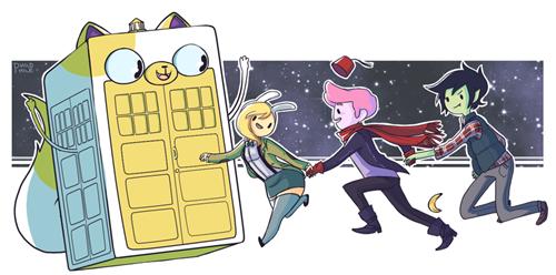 hora de aventuras doctor who