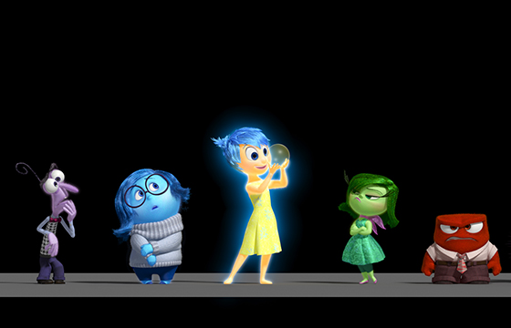 Inside Out - Las 5 emociones