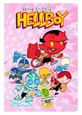 Portada Itty Bitty Hellboy 1