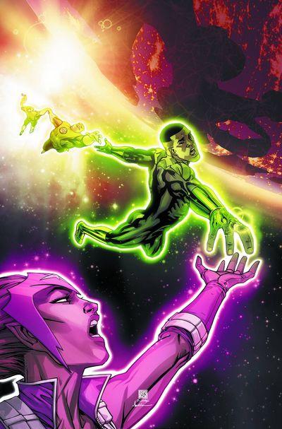 Portada de Green Lantern Corps #23