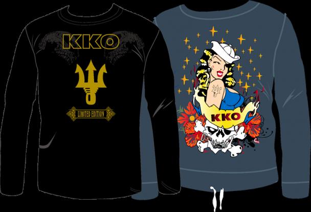Camisetas de la discoteca alicantina de KKO