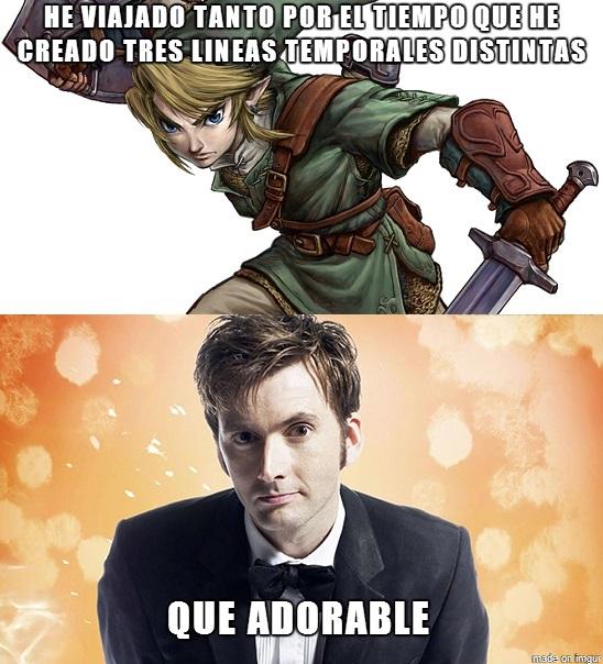 link-y-el-doctor-who
