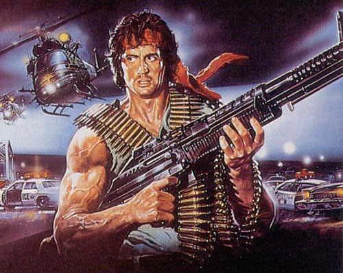 Ilustración de Rambo