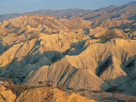 Desierto almeriense de Tabernas, paraje idóneo para rodar el éxodo hebreo
