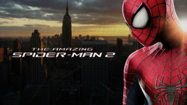 the amazing spider man 2 banner front