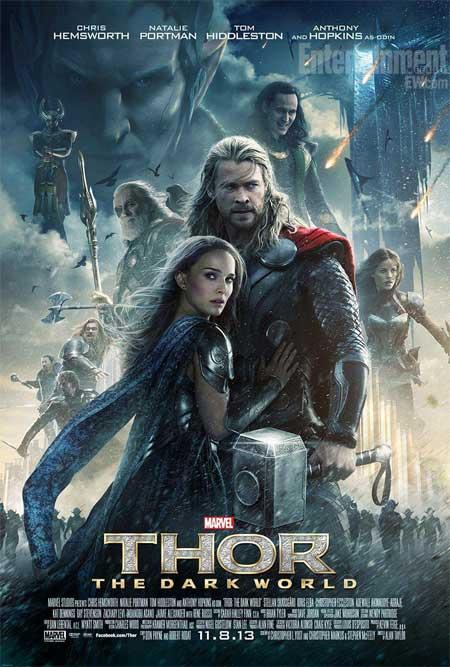 thor 2 el mundo oscuro poster oficial
