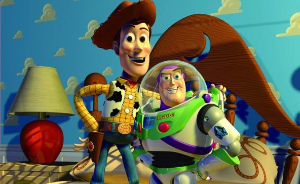 Toy Story película realizada completamente con CGI