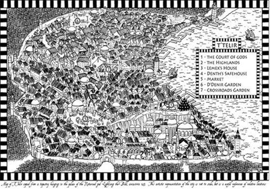 Mapa de T'Telir