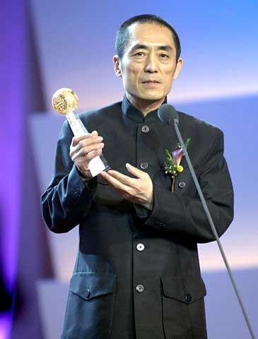 Zhang Yimou recoge un premio