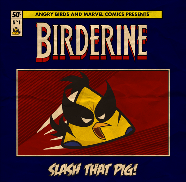 ANGRY BIRDS - BIRDERINE
