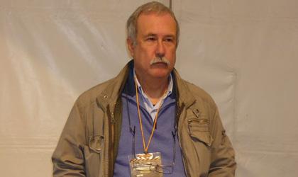 El autor Vicente Hernándiz