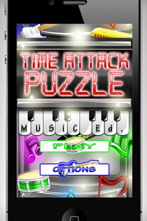 """Portada """"Time Attack Puzzle"""""""
